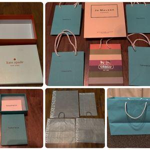 Bundles of Shopping Paper Bags